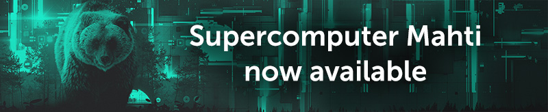 Supercomputer Mahti now available