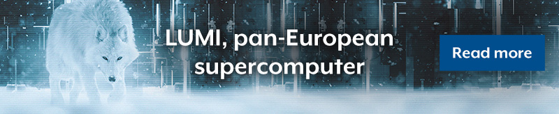 LUMI pan-european supercomputer
